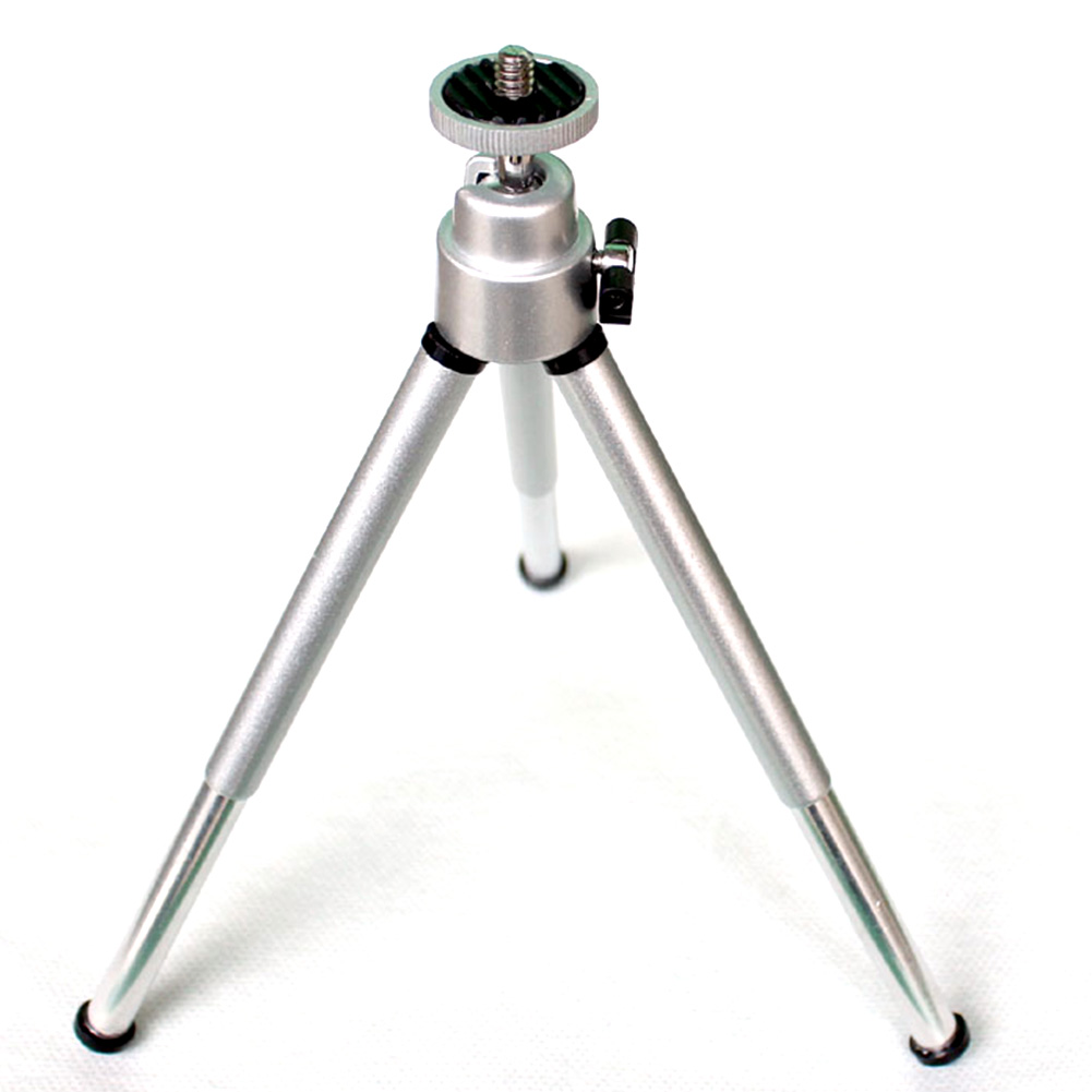 Hot Aluminum practical mini mobile phone smartphone camera tripod stand clip bracket holder mount adapter