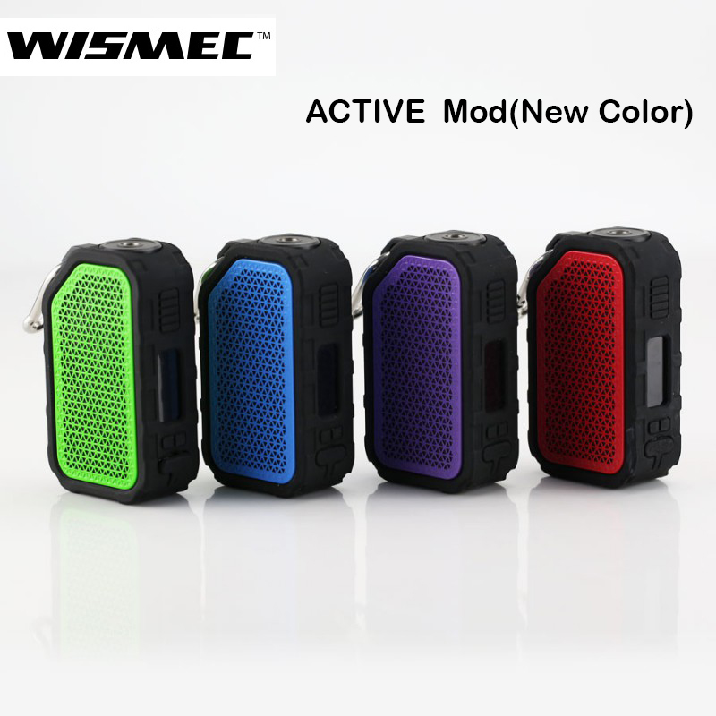 Original Wismec Active Bluetooth Music TC Box MOD 80W with 2100mah Battery Fit AMOR NSE Tank Electronic Cigarette Mod Vape цены