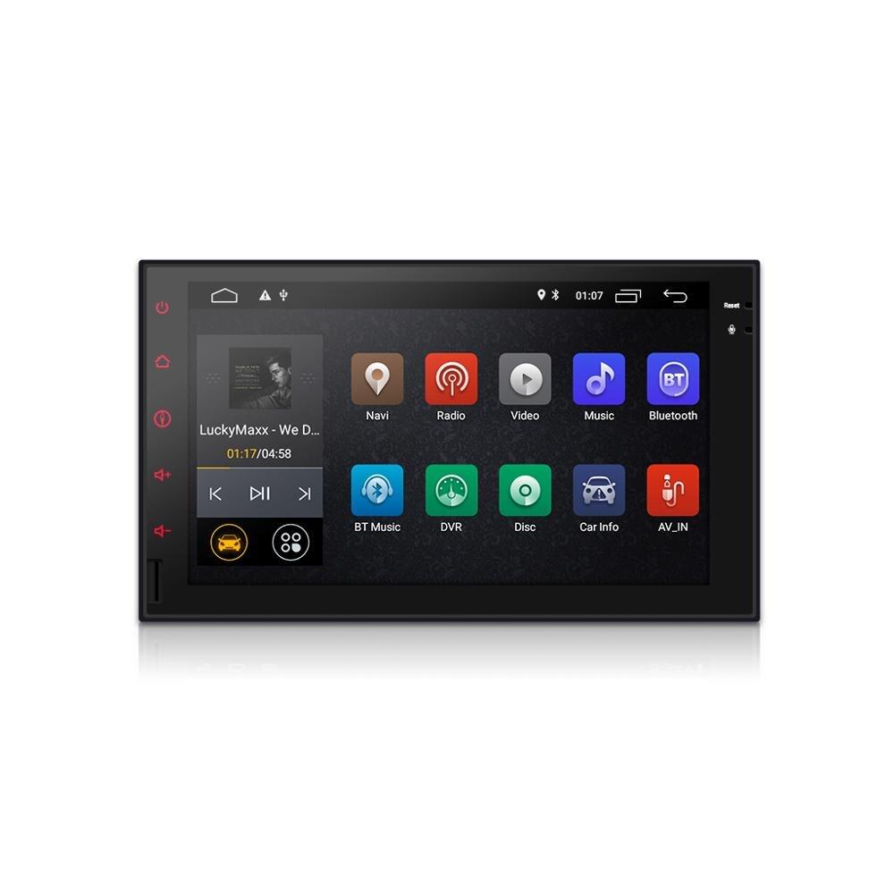 Lecteur dvd de voiture android 8.1 navigation GPS universelle pour x-trail Qashqai juke nissan 1024*600 gps DAB + lecteur vidéo d'autoradio