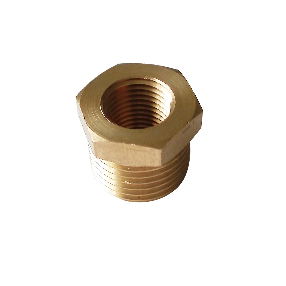 3pcs 1/4″ BSP Male*1/8″ Female BSP Brass Pipe Fitting Reducing Bushing BPFBSP-RB-M1/4-F1/8