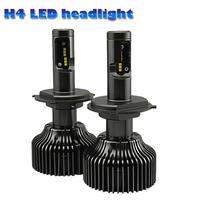 NEWEST Automobiles H4 Led Headlight Bulbs COB LED Headlight FOR Universal Car 6000K 4200LM