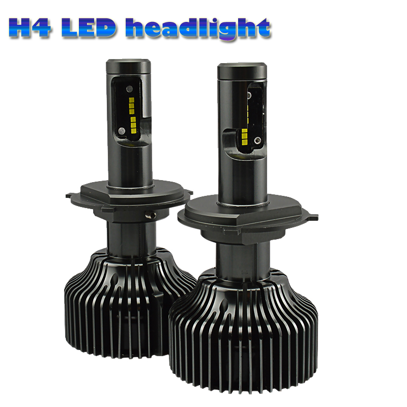 ФОТО High quality NEWEST!Automobiles led headlight  bulbs 9004  H4 H7 H11 H13 H15 5202 HB3 9007 HB4 For Universal Car 6000K 4200LM