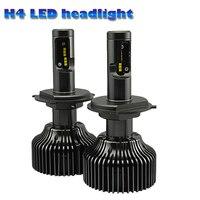 NEWEST Automobiles H4 Led Headlight Bulbs COB LED Headlight FOR Universal Car 6000K 4200LM