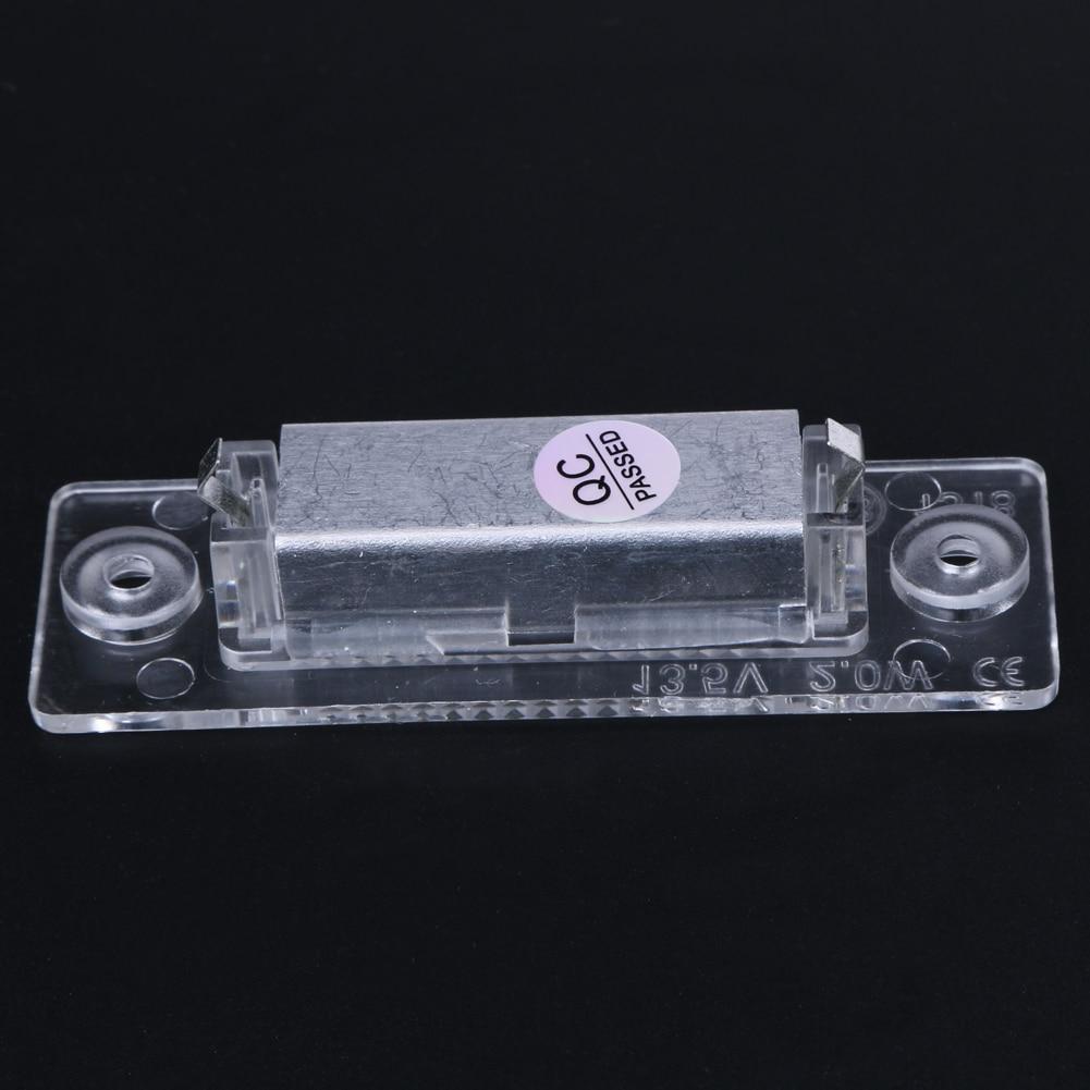 2 stk LED nummer nummerplade lys bageste lampe 18-LED til VW Caddy - Billygter - Foto 5