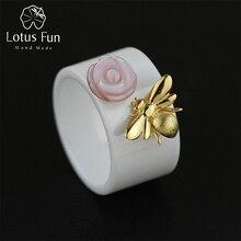 Lotus Fun anneau Mignon Abeille Baiser d ...