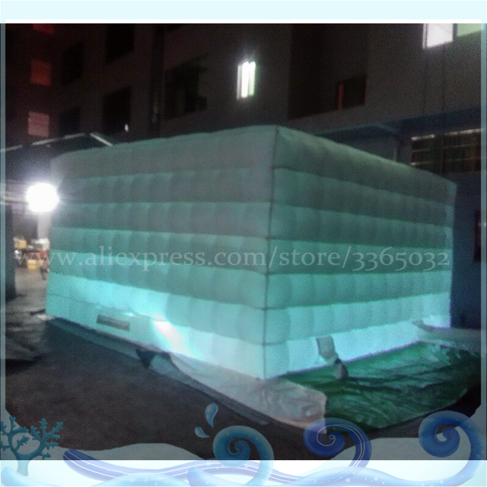 Portable Inflatable Photo Cabin/Inflatable Cube Tent/Led Booth