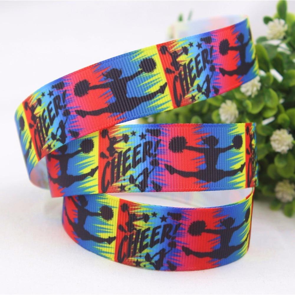 161201C223, 22MM cartoon series printing satin ribbons, DIY handmade hair accessories material wedding gift packaging
