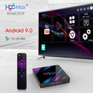Image 3 - Android TV Box Android 10.0 H96 Max Rockchip RK3318 4K Smart TV Box 2.4G e 5G Wifi BT4.0 H96Max 4GB 64GB Media Player Set Top Box