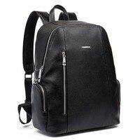 BOSTANTEN Genuine Leather Men's Backpacks Bolsa Mochila for Laptop Notebook Computer Bags Men Business style Backpack Rucksack