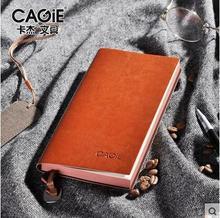 CAGIE 2017 Старинные Блокнот Ноутбук A6/A5/B5 Дневник Filofax Ежедневно Заметок-Планировщик Ноутбуков Повестки Дня Pu Кожаный Альбом