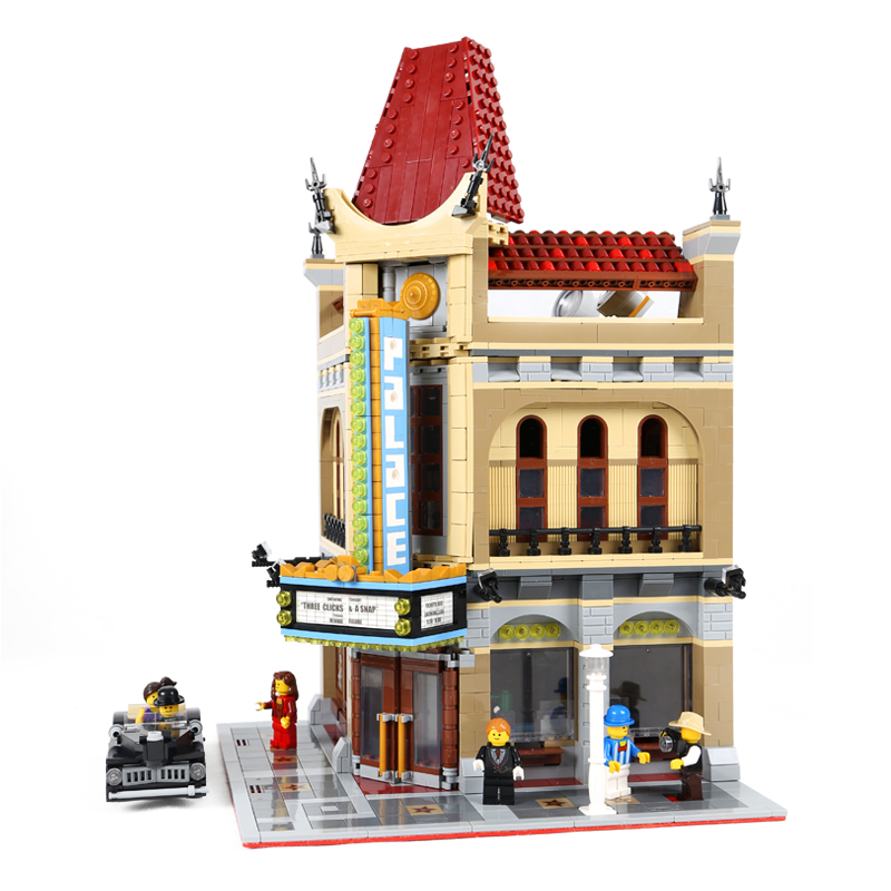 LEPIN 15006 2354pcs Palace Cinema Model Building Blocks Set Bricks Toys Compatible with lego 10232 Toys For Children lepin building bricks 15006 2354pcs palace cinema model building blocks set compatible 10232 educational toys gifts for children