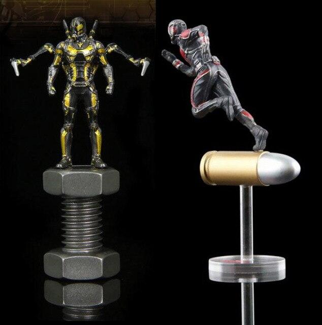 Vingadores Marvel DC Herói Antman Vespa Formiga-man Action Figure 10 cm figurinhas Coleção Modelo Boneca Brinquedos de PVC o homem Formiga E o vespa