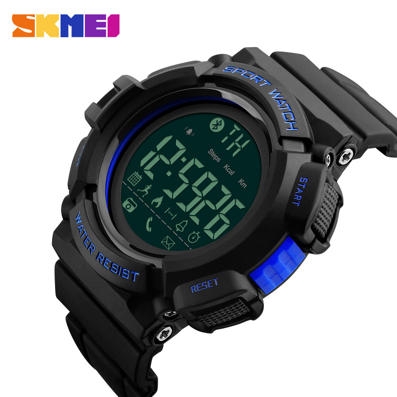 Blue Led Light Stainless Steel Smart Watch Men Sports Casual Wristwatches Clock #m Fashion Led Watch Men Red Yellow Green