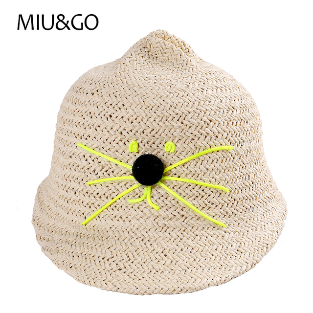 childrens knit hat with beard 2017