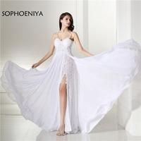 Fashion Sexy Beach Wedding Dress 2018 Spaghetti Strap Backless Vestido De Noiva Wedding Gowns Vestido Noiva