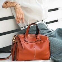 Модная женская сумка через плечо из натуральной кожи, черная сумка, Женская Повседневная Сумка-тоут, высокое качество, женские сумки