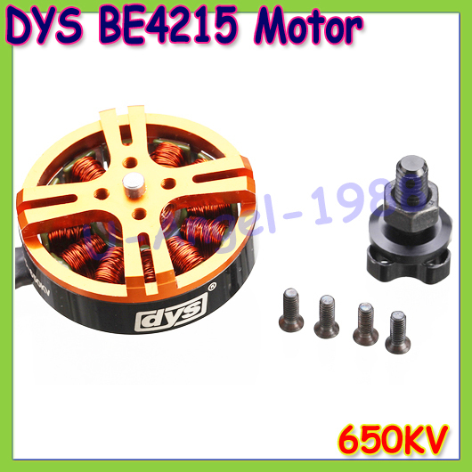 Wholesale 1pcs Brushless Motor 4215 650KV For RC Model Quadcopter Hexacopter Multicopter DYS BE4215-650kv+Free shipping
