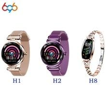 696 H8 H1 H2 Smart Woman Watch Bracelet Heart Rate Blood Pressure Watch Pedometer Waterproof Fitness Activity Tracker Bracelet
