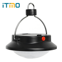 ITimo Emergency Lamp 3 Modes Lantern Flashlight Lightweight For Hiking Camper Tent Portable LED Camping Light