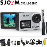 Оригинал SJCAM SJ6 Легенда экшн камера Спорт DV 4 К Wifi 30 м Водонепроницаемый 1080 P Ultra HD 2 сенсорный Экран Notavek 96660 Удаленной Камеры экшен камера