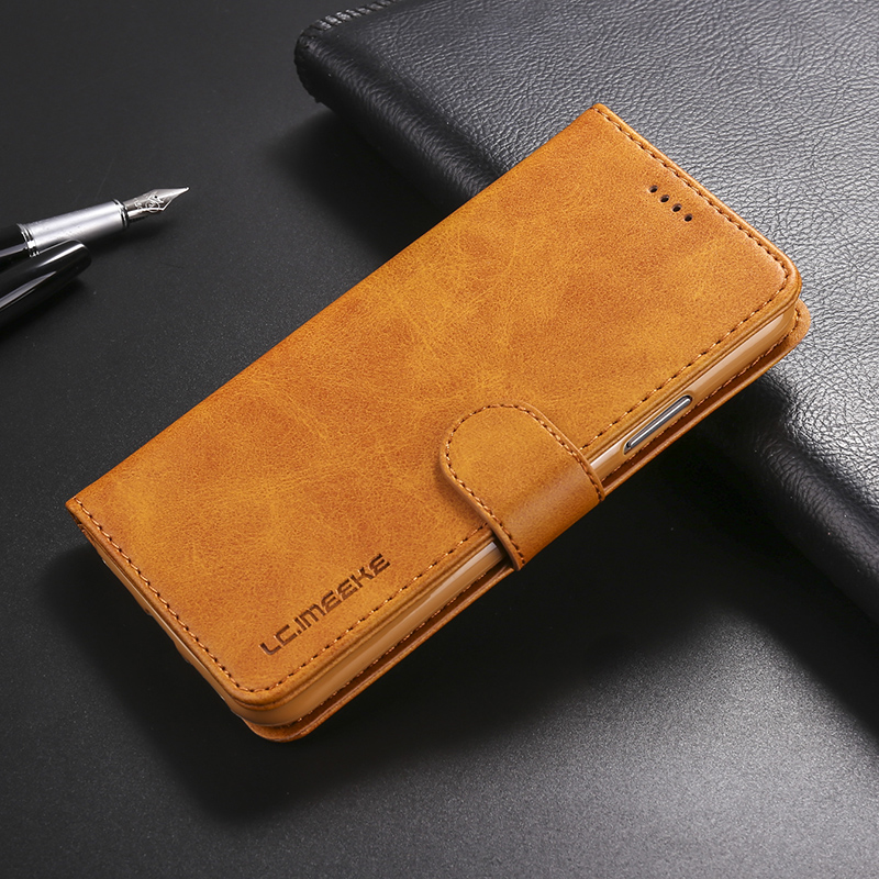 Luxurious Pu Leather-based Pockets Telephone Case For Iphone 5 5S Se 6 6S 7 eight Plus Multi Card Holders Flip Case For Iphone X Xs Max Xr Cowl