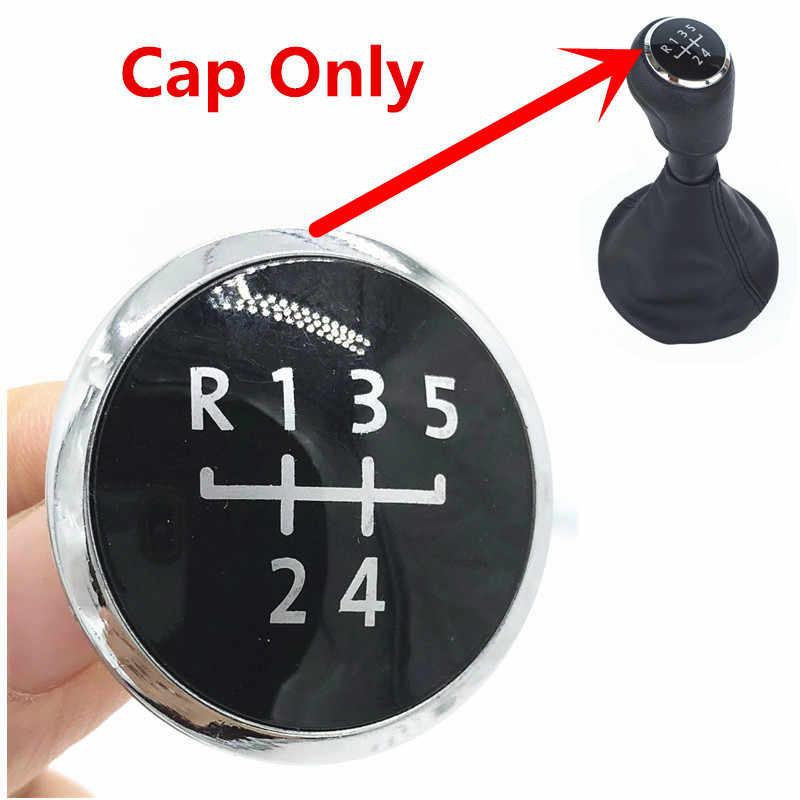 5/6 Speed Versnellingspookknop Stick Cap Cover Emblem Badge Voor Volkswagen Vw Vervoer T5 T6 Gp 2003 2004 2005 2006 2007 2008-2011