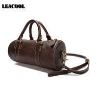 Travel Bag Large Capacity Men Hand Luggage Travel Duffle Bags Crazy Horse Leather Weekend Bags Multifunctional