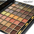 Miss Rose Cosmetic Brand New 48 Colors Eyeshadow Palette Natural Nude Matte Eye Shadow Makeup Professional For Women With Brush