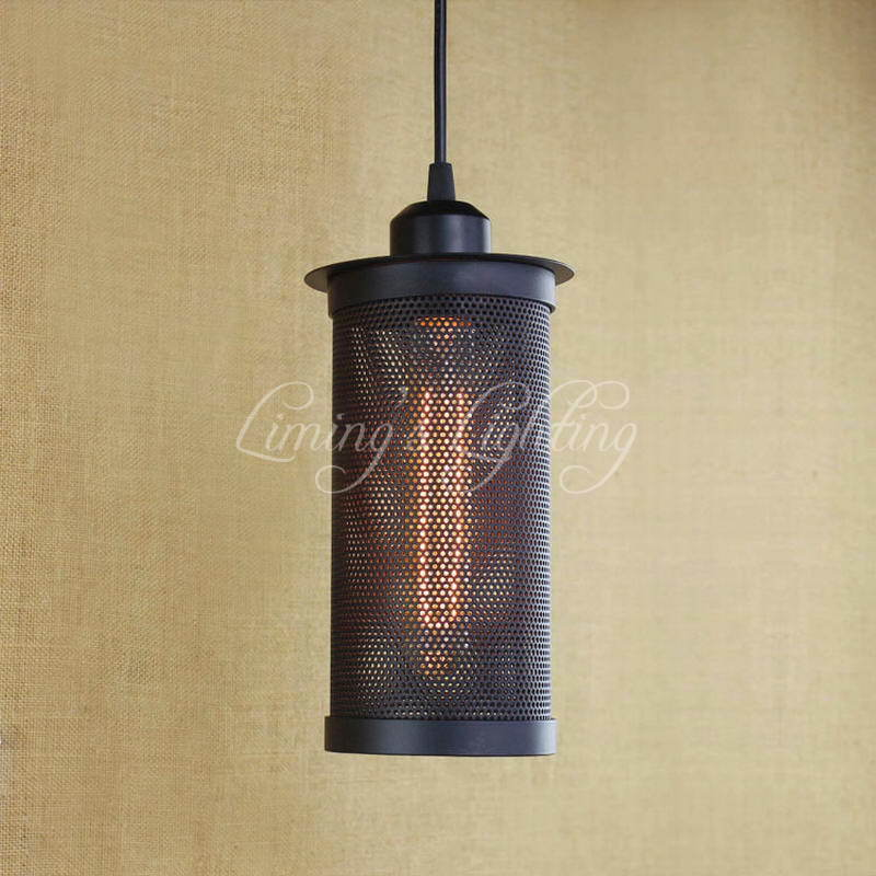 цены Modern Edison Personality Industrial Lighting Counter Lamps Cage Vintage Pendant Lights Pendant Lamp Edison Bulbs AC 110-220V