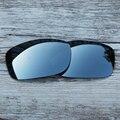 Inew Silver Titanium поляризованных Сменные Линзы для Oakley Пятерки Squared 100% UVA и UVB