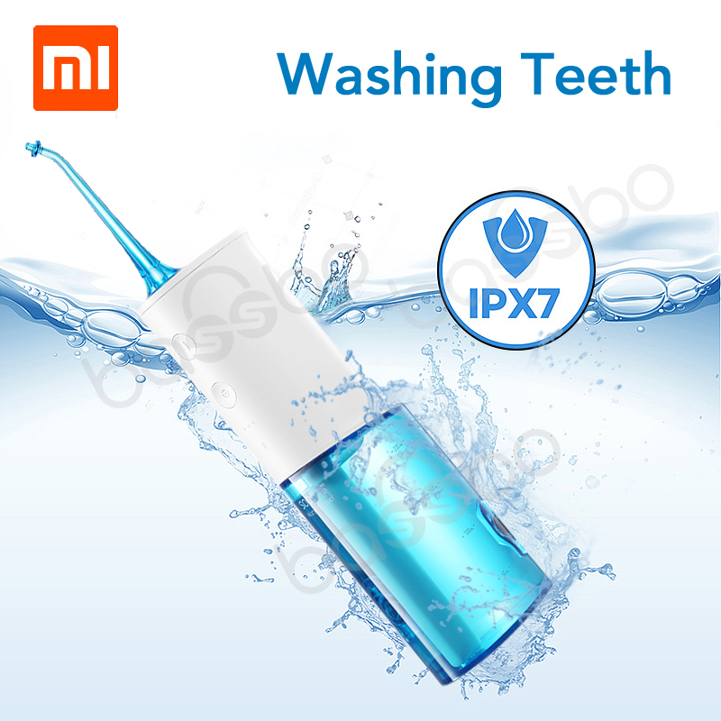 XIAOMI Mijia SOOCAS W3 Portable Electric Oral Irrigator Wireless Waterproof USB Charging Water Flosser with 3 Cleaning Mode-in Smart Remote Control from Consumer Electronics on Aliexpresscom  Alibaba Group