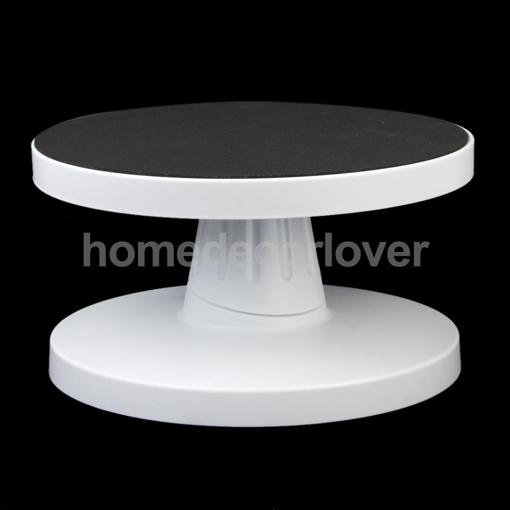 26x14cm Rotating Revolving Stand Platform Sugarcraft Turntable Cake Decoration