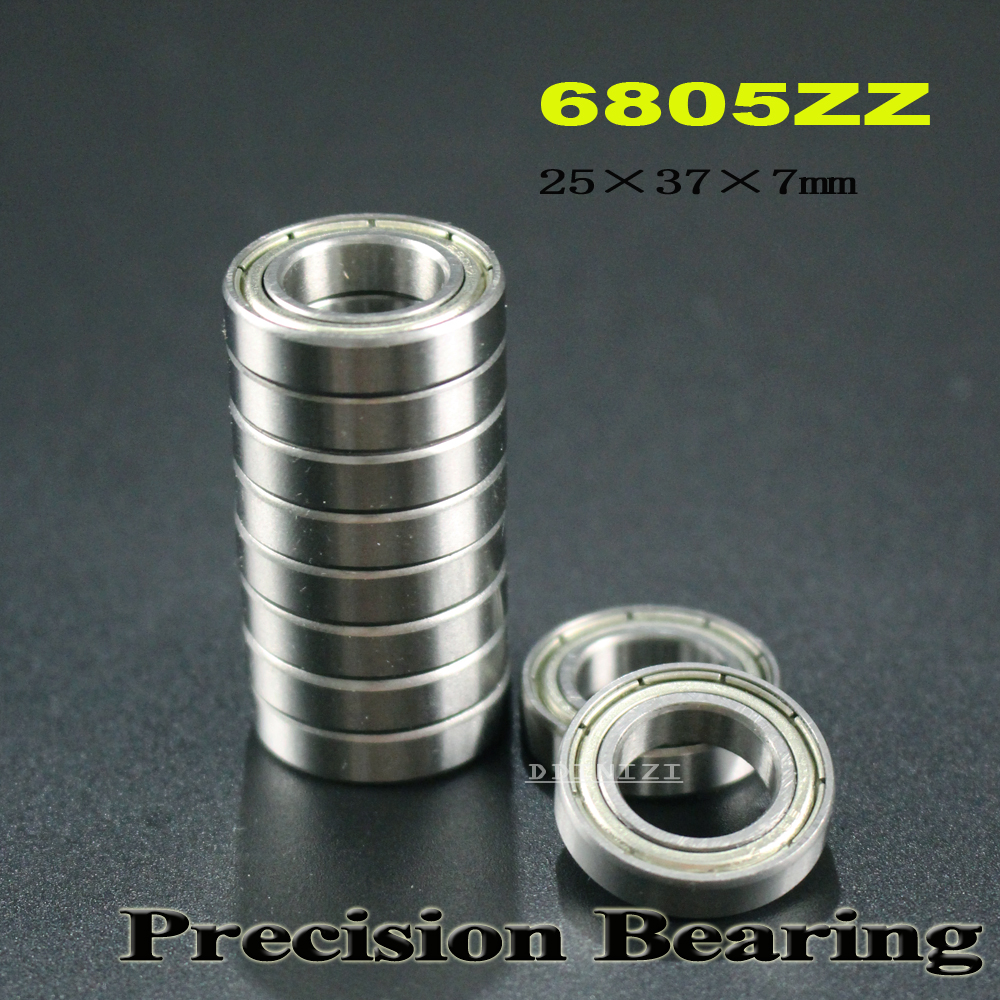 6805zz Bearing 25 37 7 Mm Abec 1 Metric Slim Thin Section