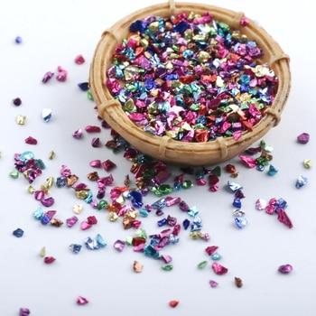 Wholesale prices 450g/Bag Broken Glass Rhinestones for Nails Gems 3D Mix Nail Art Rhinestone Decorations Stones 5