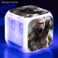 [Wanpy Family] Rampage Digital Alarm Clock For Children Birthday Gift Bedside Desktop Color Changing