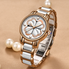 2019 SUNKTA Luxury Brand Women Watch Dress Bracelet Fashion Rose Gold Quartz Female Stainless Steel Girl