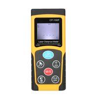 100m Portable Handheld Digital Laser Distance Meter Range Finder Area Volume tape Measure Data Storage Backlight