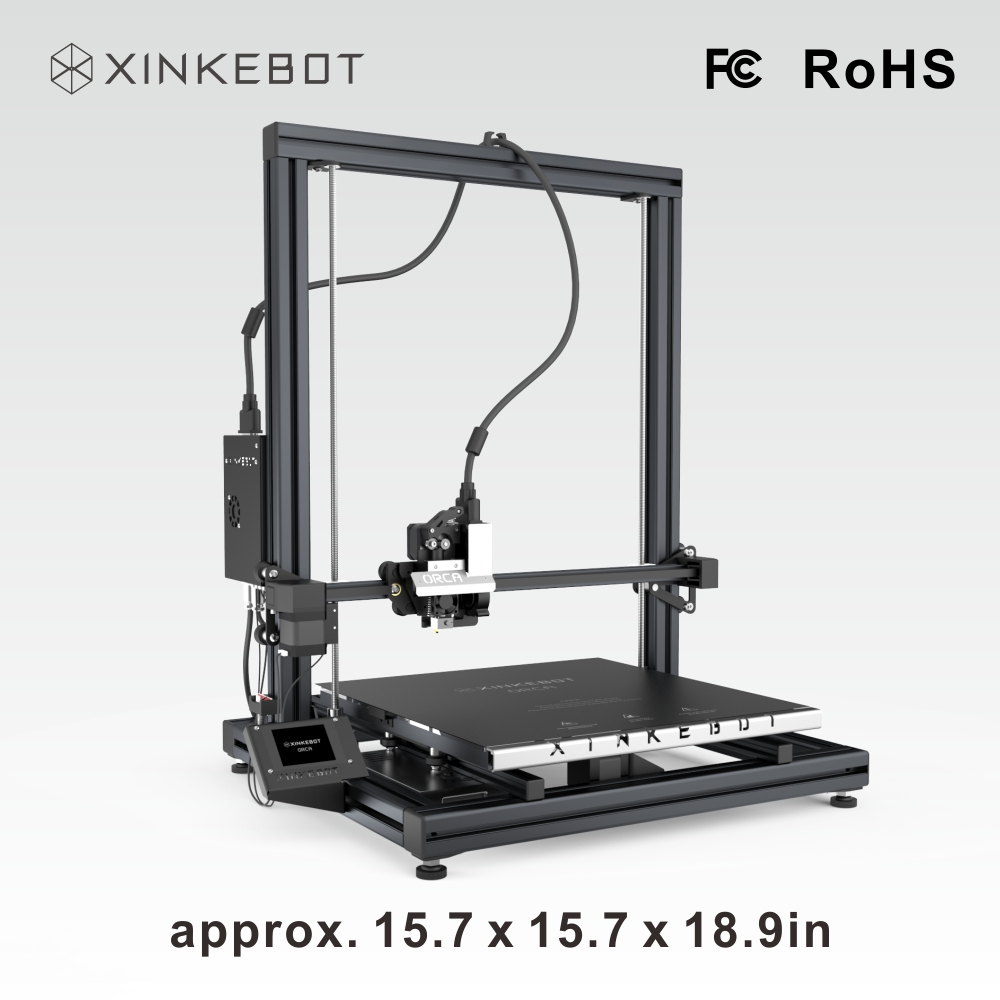 XINKEBOT ORCA2 Cygnus Large Building Space 3D Printer with HBP and LCD Screen