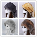 Super warm! Autumn and winter men women's thicken thermal faux fur hat ear protect winter faux fix fur hat cap