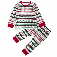 Puseky Family Christmas Pajama Kids Christmas Family Clothes for Brother and Sister Clothes Jumpsuit Suit Matching Outfits