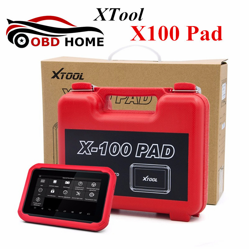 New Arrival XTOOL X100 Pad Auto Key Programmer With EEPROM Immobilizer Professional Diagnostic Tool X100 Pad IMMO Programming