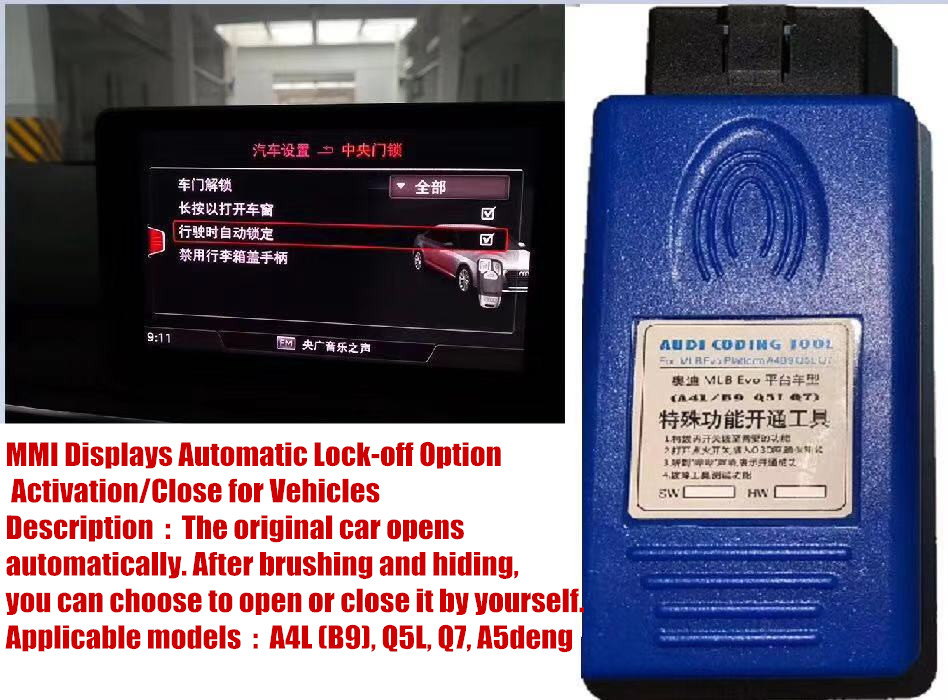 US $79 0 |2019 The latest automobile special function activation, vehicle  fault code clearance tool, applicable to A4L (B9), Q5L, Q7, A5-in Car