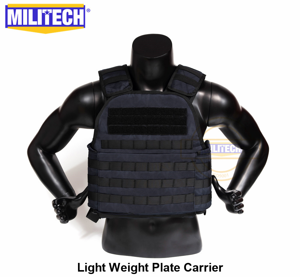 MILITECH Light Weight Plate Carrier Navy Blue NB Military Combat Assault Tactical Vest Police Overt Body