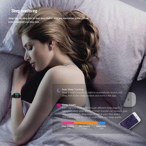 Image 5 - VERYFiTEK P70 חכם שעון לחץ דם קצב לב צג IP68 כושר צמיד שעון נשים גברים Smartwatch עבור IOS אנדרואיד