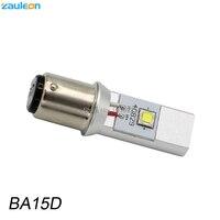 BA15D BA20D H4 LED Motorcycle Headlight Bulbb DC 6 24V 20W 1200LM With Cree XM L2