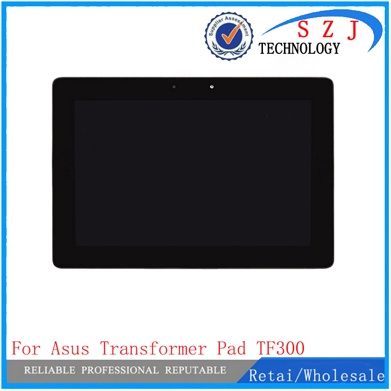 New 10.1 inch For Asus Transformer Pad TF300 TF300T 5158N LCD Display with Touch Panel Screen Digitizer Assembly with Frame new b101ean01 6 lcd display screen touch screen digitizer assembly for asus transformer pad tf103 tf103cg gray cable