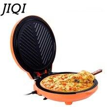JIQI, бытовая электрическая сковорода для выпечки, машина для выпечки тортов, двусторонняя гриль-машина, сковорода, блинная подвеска, подогрев, электрические киоски для торта