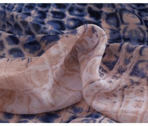 Image 5 - 2019 di Vendita Calda Delle Donne Serpente A Sonagli Sciarpe di Stampa Scialli Lungo Leopardo Wrap Hijab Silenziatore 3 di Colore del Commercio Allingrosso 10 pz/lotto Trasporto Libero