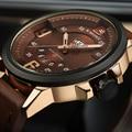 2016 relojes para hombre top brand naviforce deporte de lujo de los hombres reloj de cuarzo ocasional relojes militar mujer reloj de cuero masculino del relogio