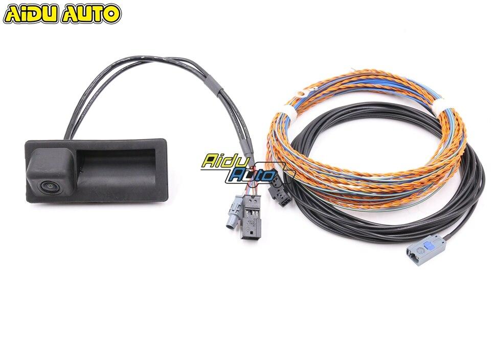 4G0827566A ручка багажника камеры заднего вида с высокой руководством строка для Audi A6 C7 MIB 2 UNIT 4G0 827 566 A